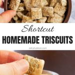 Shortcut Homemade Triscuits Collage with Text