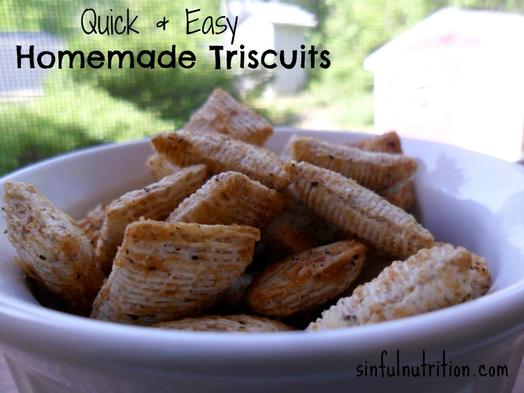 These healthy homemade triscuits only take minutes to make, and are seriously addictin