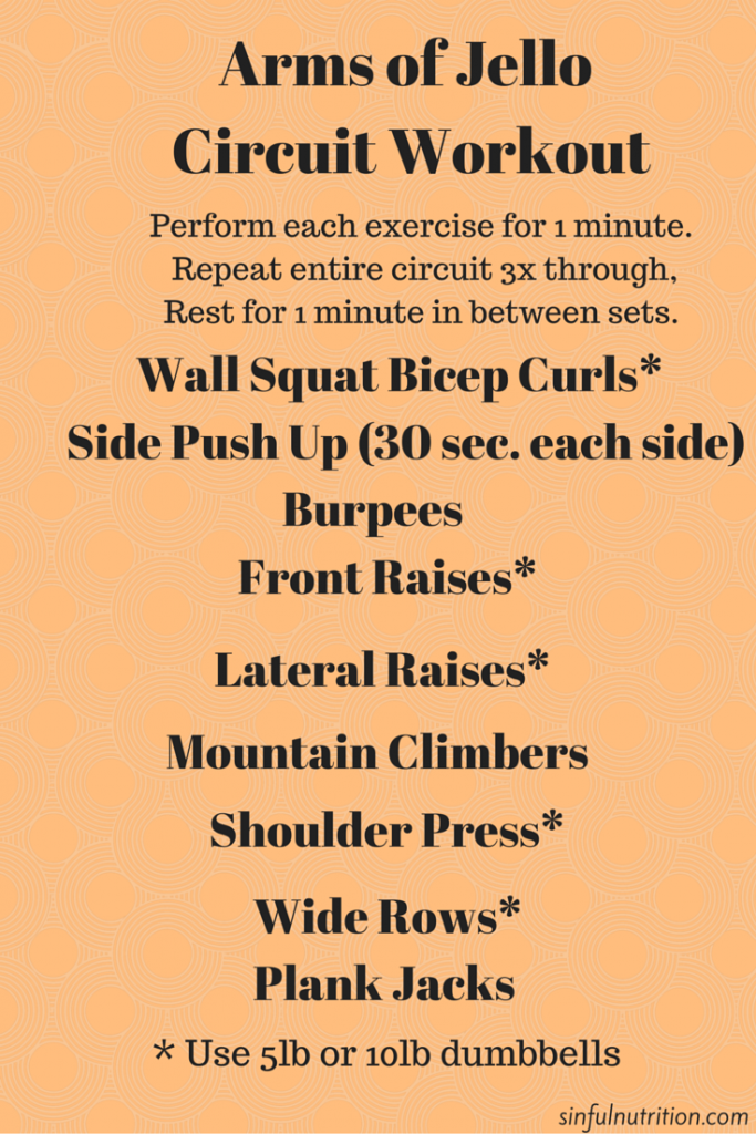 Arms Of Jello Upper Body Workout