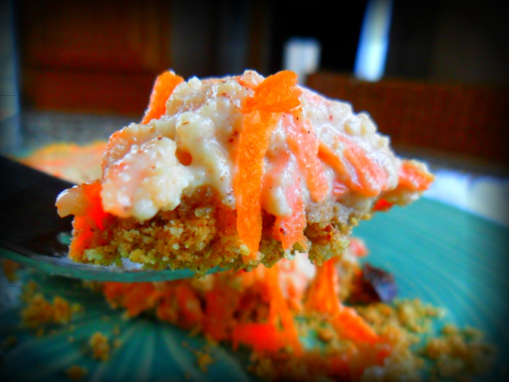 Carrot Cake Cheesecake - Two delicious desserts in one! Plus a secret healthy ingredient!