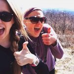 Hiking with Hannah Selfie