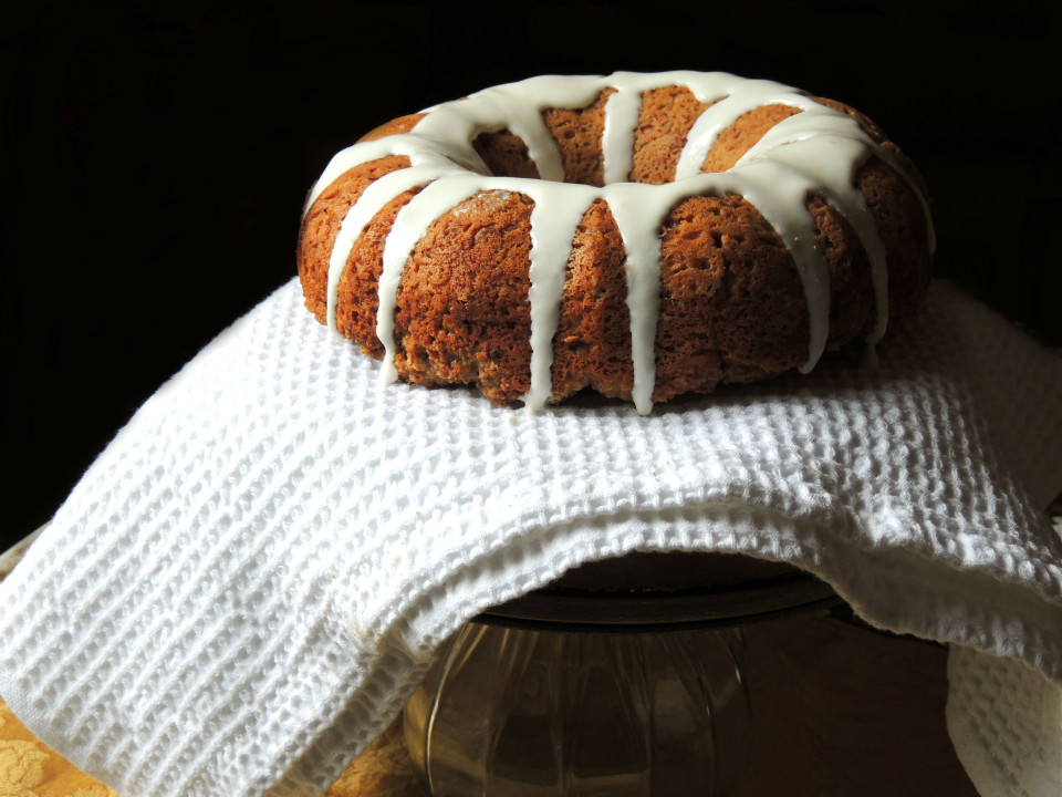 Sinless Sour Cream Coffee Cake - An old family recipe made healthy! A dessert you can actually feel good about eating.