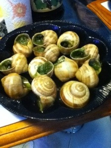 Escargots in France