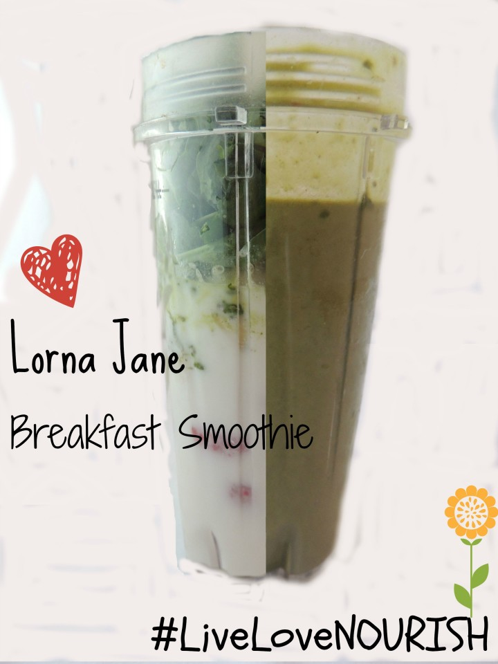 Lorna Jane Breakfast Smoothie Recipe