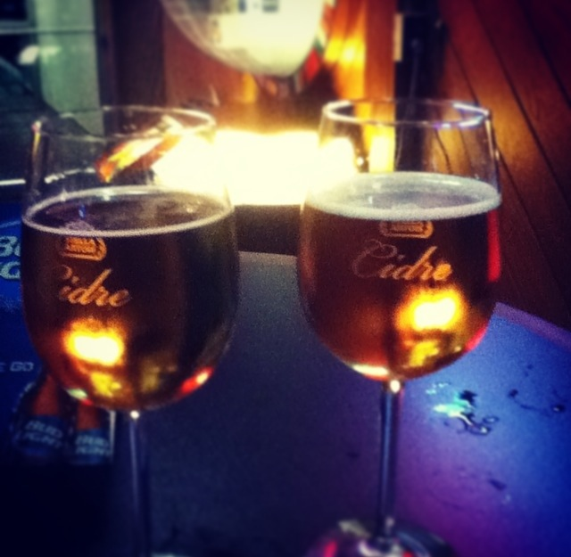 Cidre cider budweiser tour