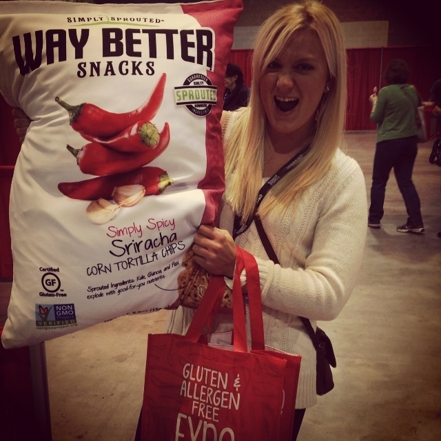 Giant Way Better Snacks GFAF Expo