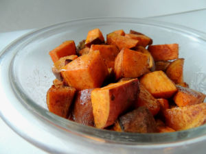 Five Spice Sweet Potatoes