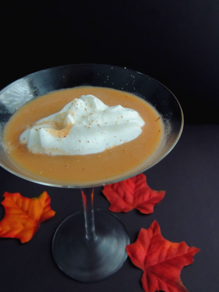 Skinny Pumpkin Pie Martini