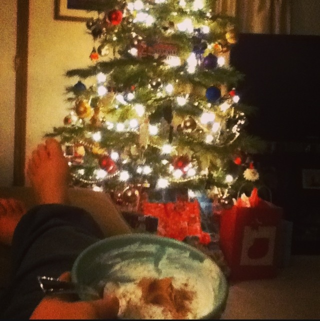 Christmas Tree and Ice Cream