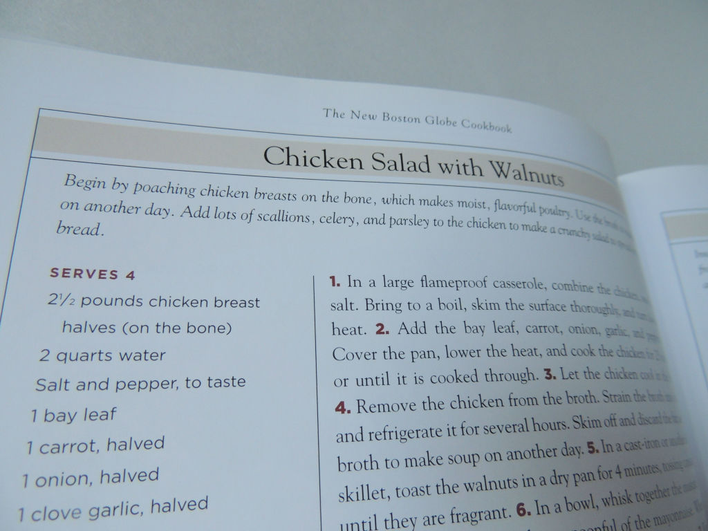 chicken salad cookbook
