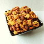 AD   This Homemade Gluten Free Chex Mix Recipe is a seriously addicting party snack that is perfect for your game day spread. Love the smokey and salty combo!   @sinfulnutrition   #sinfulnutrition   #bluediamond   #glutenfree   #snack   #appetizer   #gameday   #football   #chexmix