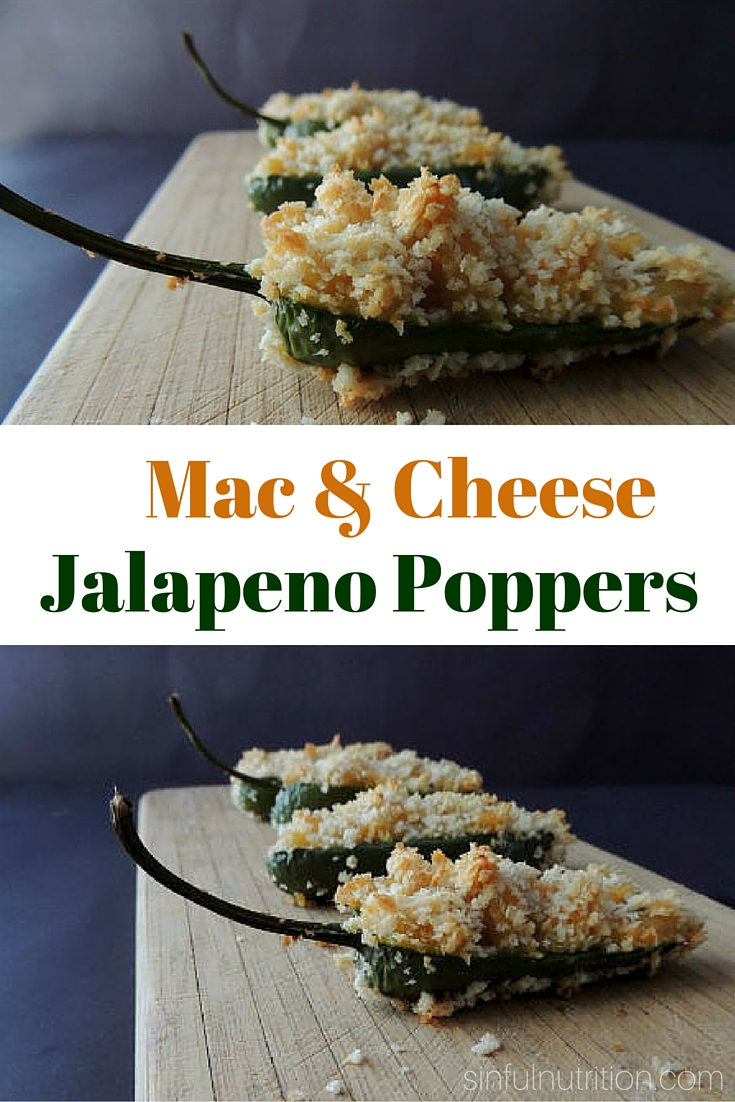 Macaroni & Cheese Jalapeno Poppers Recipe -- A creamy & spicy appetizer like no other! Perfect for game day or any celebration! #ad