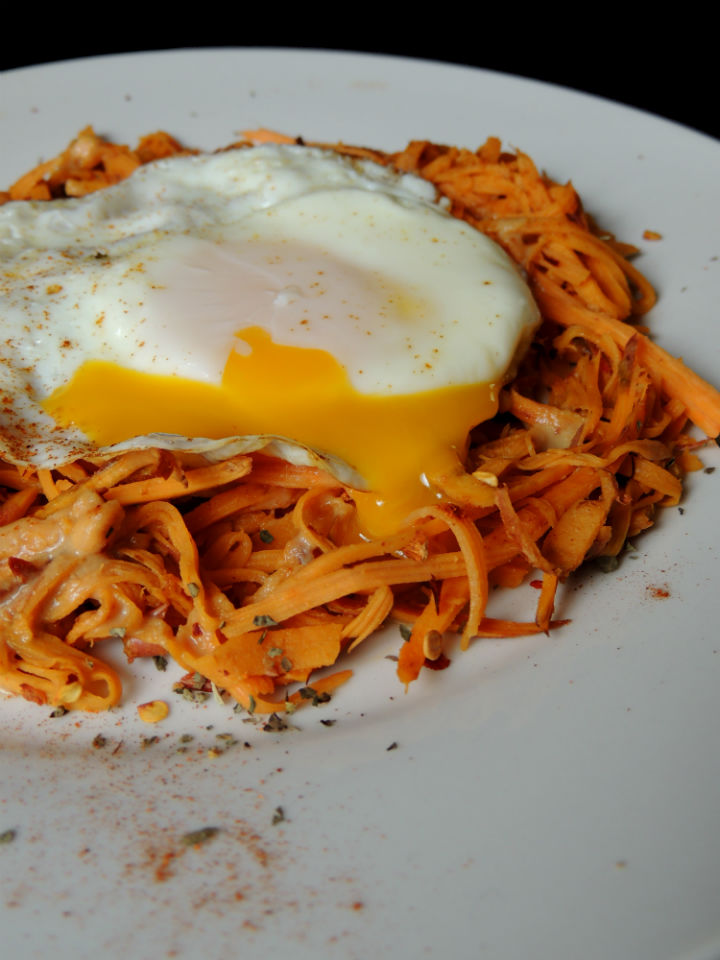peanut sweet potato noodles
