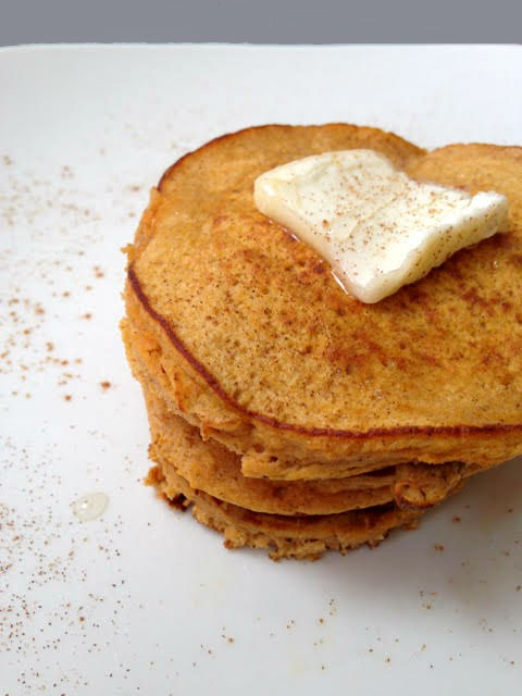 Easy 2-Ingredient Sweet Potato Pancakes