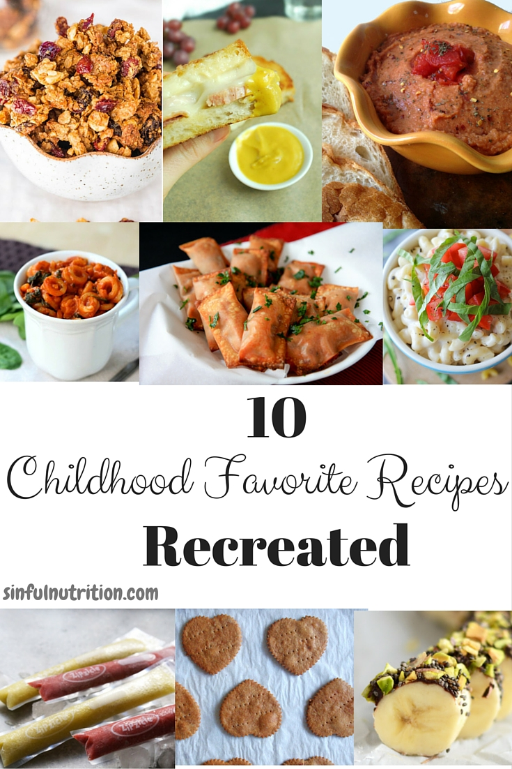 10 Childhood Favorite Recipes Recreated -- Adultified renditions on some of your classic childhood foods!