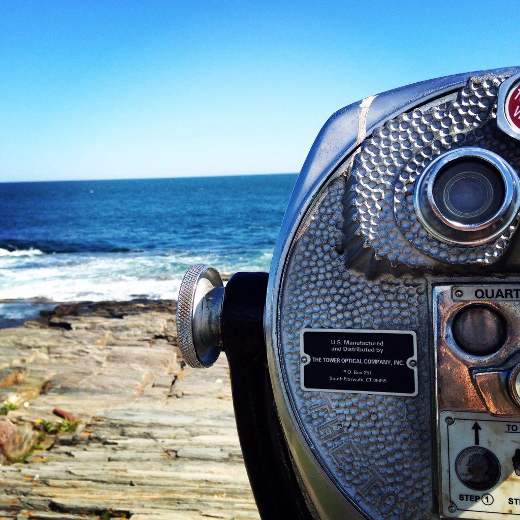 Portland Maine Ocean Lookout