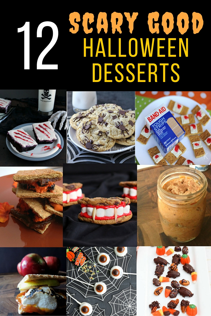 12 Scary Good Dessert Ideas just in time for Halloween