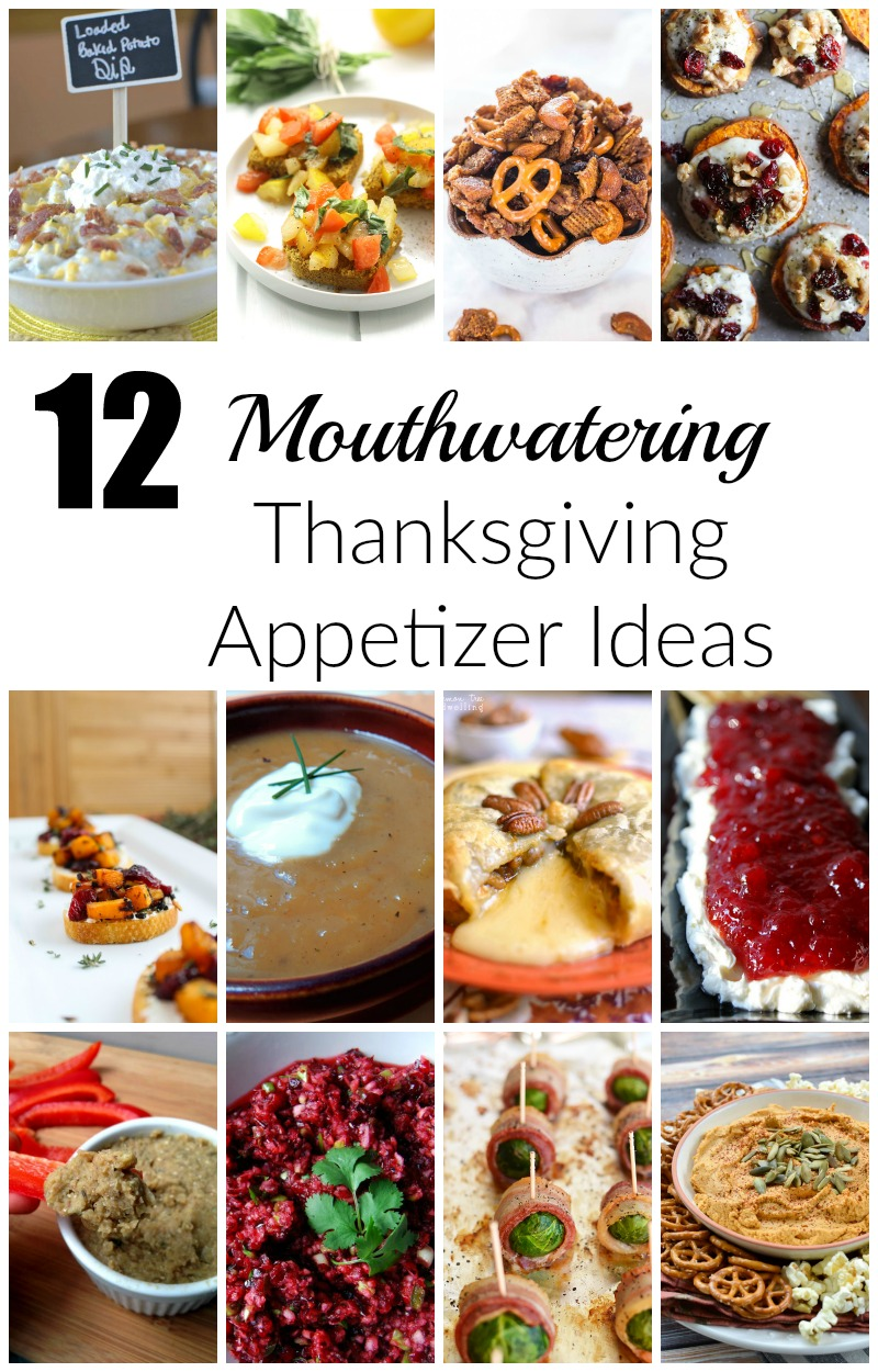 12 Mouthwatering Thanksgiving Appetizer Ideas Sinful