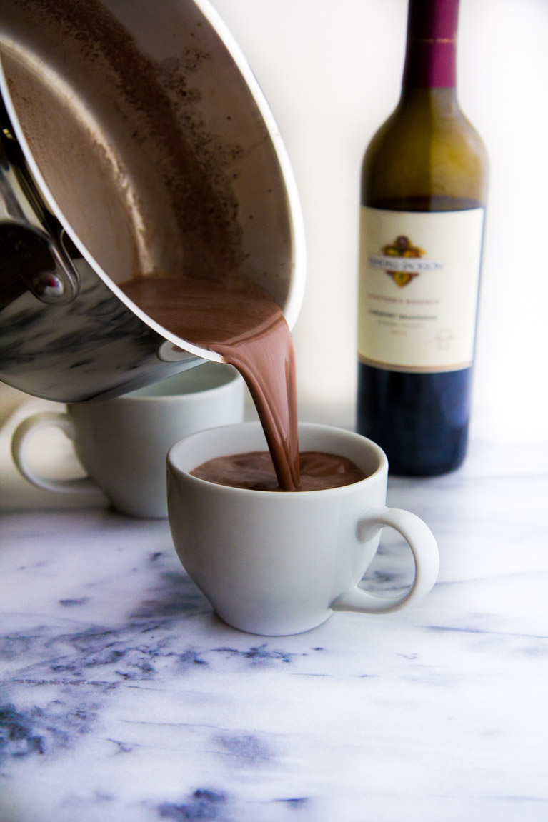 Red Wine Hot Chocolate + 8 Unbelievably Delicious Homemade Hot Chocolate Recipes!