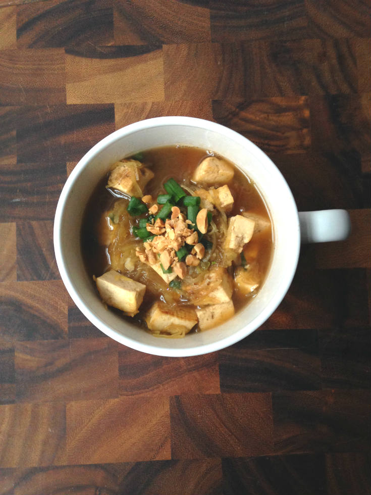 Vegan Pad Thai Soup -- Turning one of my favorite dishes into a ...