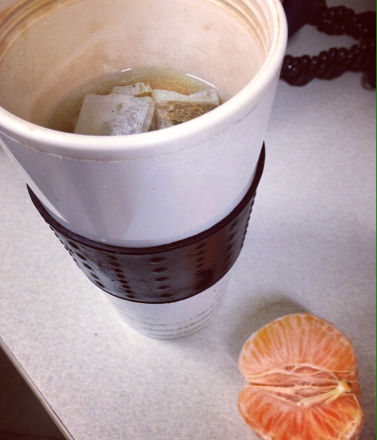 Green Tea and Clementine