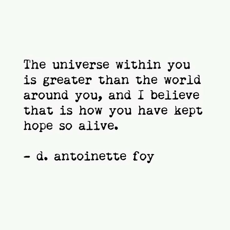 universe within quote