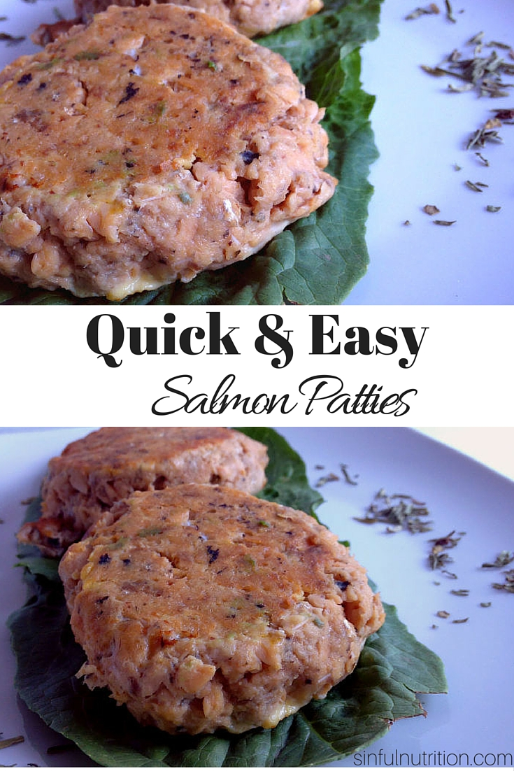The Ultimate Quick & Easy Salmon Patty Recipe -- A super fast and inexpensive way to get your salmon fix. No breadcrumbs required! Gluten-free & Paleo-friendly