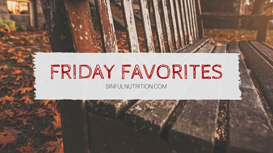 Friday Favorites: April
