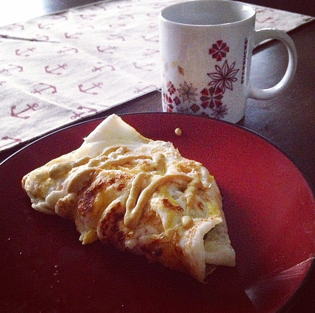 Omelette and Coffee