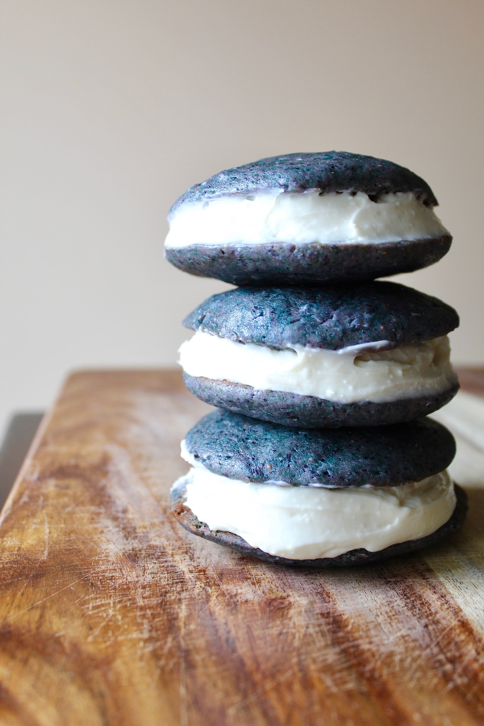 Wild Blueberry Whoopie Pies