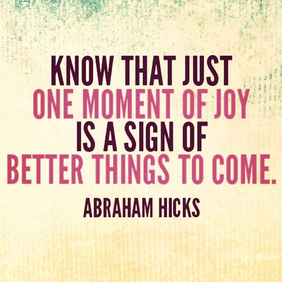 sign of joy quote