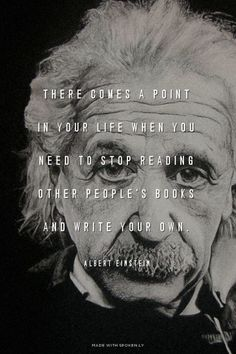 Einstein Books Quote