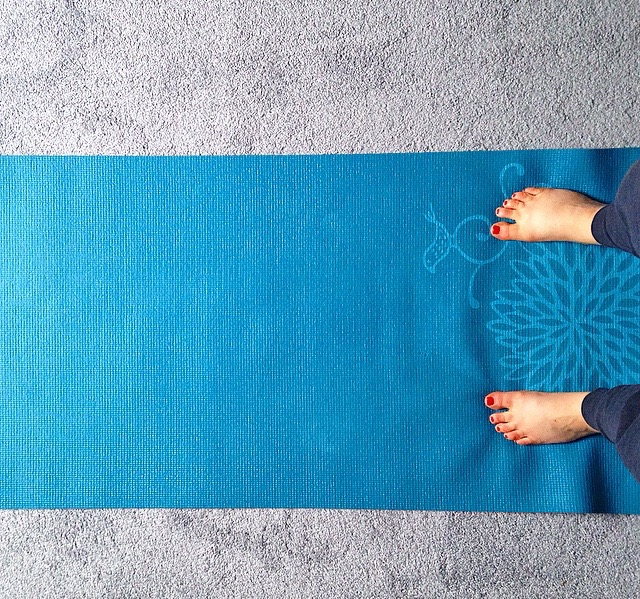 Yoga Mat Feet