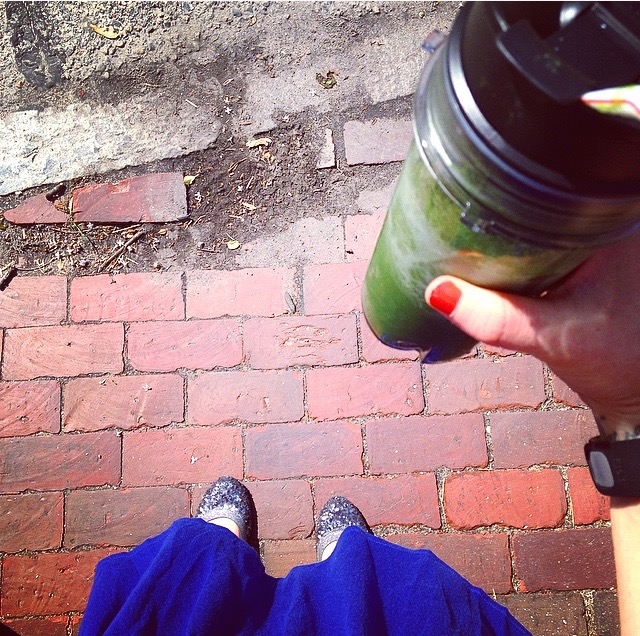 Green Smoothie Walk