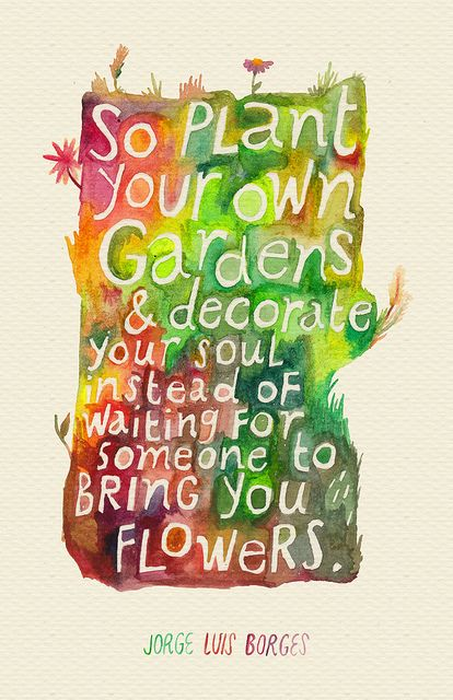 Plant Your Own Gardens