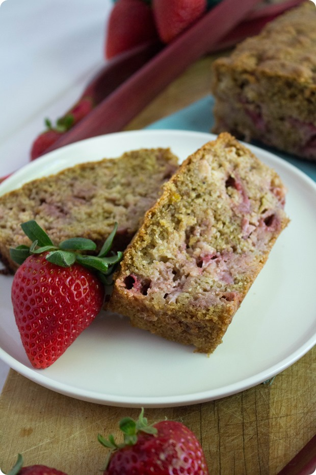 strawberry-rhubarb-bread