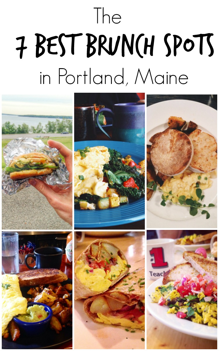 The 7 Best Brunch Spots in Portland, Maine -- A local's guide to the best breakfast restaurants in the Port City that are anything but touristy. | @sinfulnutrition www.sinfulnutrition.com