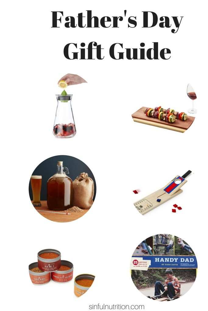 Father's Day Gift Guide + Kombucha Sangria Recipe! | @sinfulnutrition #ad