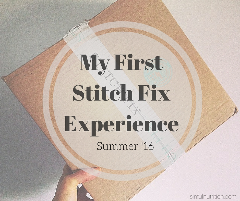 The OMG! I Got a Stitch Fix Post: A Review