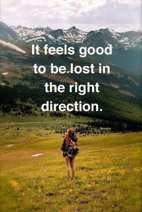 Quote Lost in the Right Direction