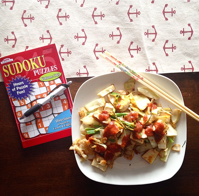 Stir Fry and Sudoku