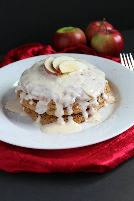 Apple Fritter Pancakes