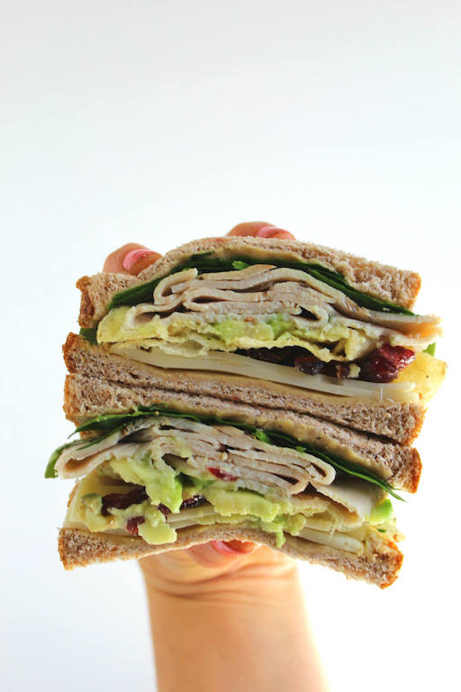 Black Pepper and Cranberry Turkey Sandwich