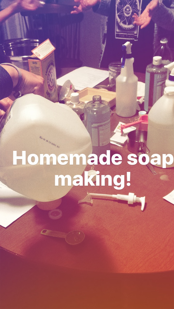 Making Soap Party
