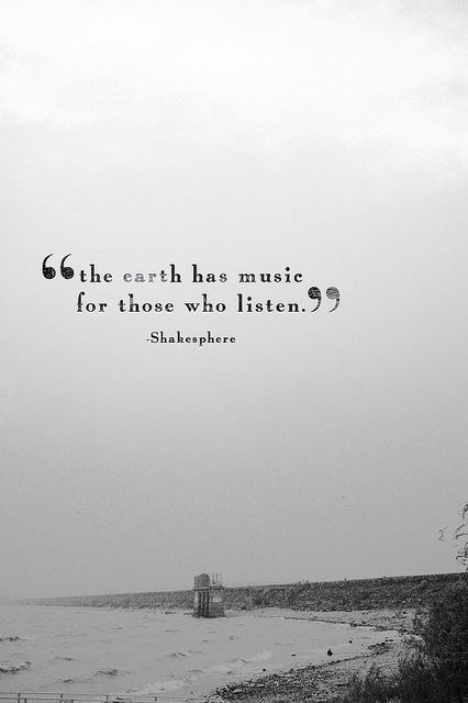 Shakespeare Earth Quote
