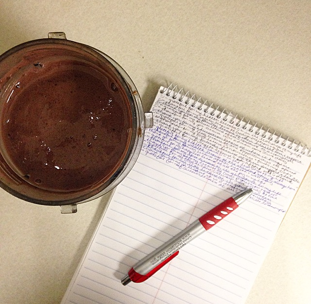 Gratitude Journal and Smoothie