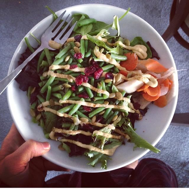 Salad with Dijon