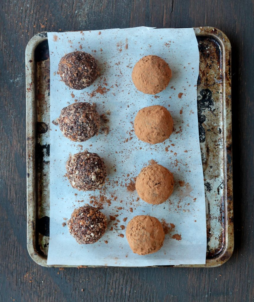 Healthy Ferrero Rocher Truffles + more holiday dessert recipes that aren't cookie!