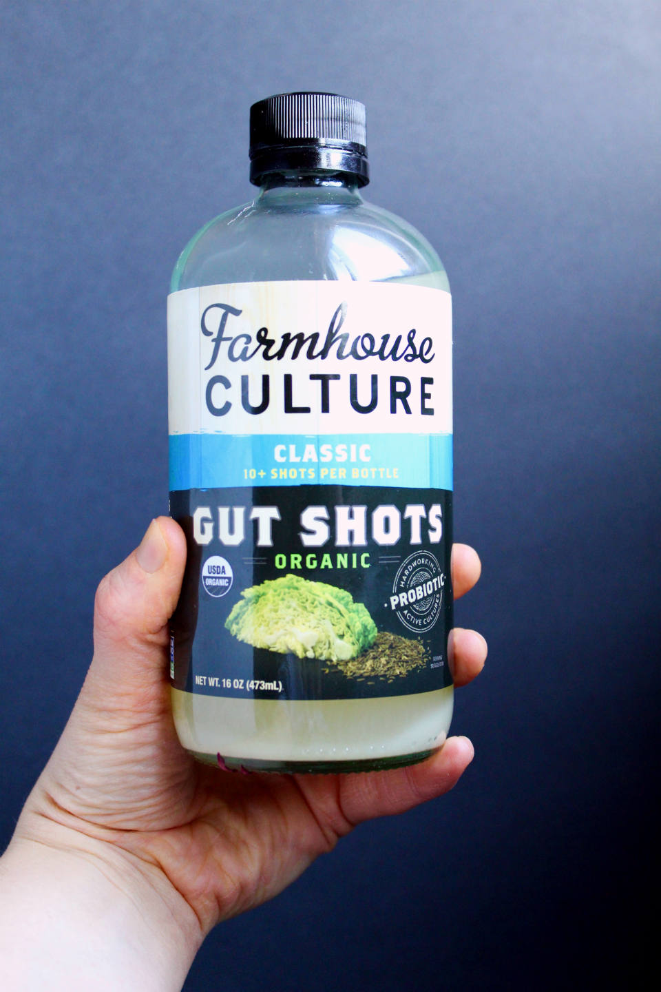 Fermented Sauerkraut Salad Dressing Recipe -- Put that leftover sauerkraut juice to use, and make a gut-healthy probiotic vinaigrette! | @sinfulnutrition
