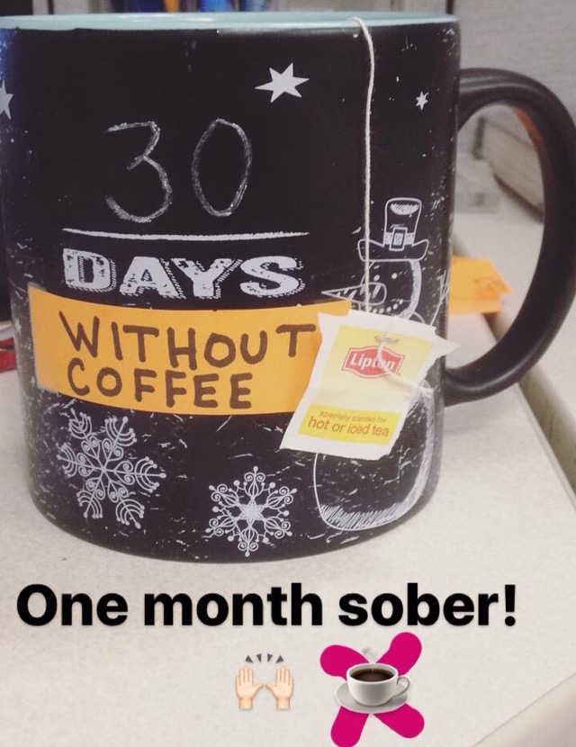 30 Days Without Coffee